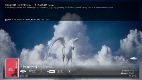 Kwaliteit Real-Debrid stream (1080P, 5.1 Dolby Digital)